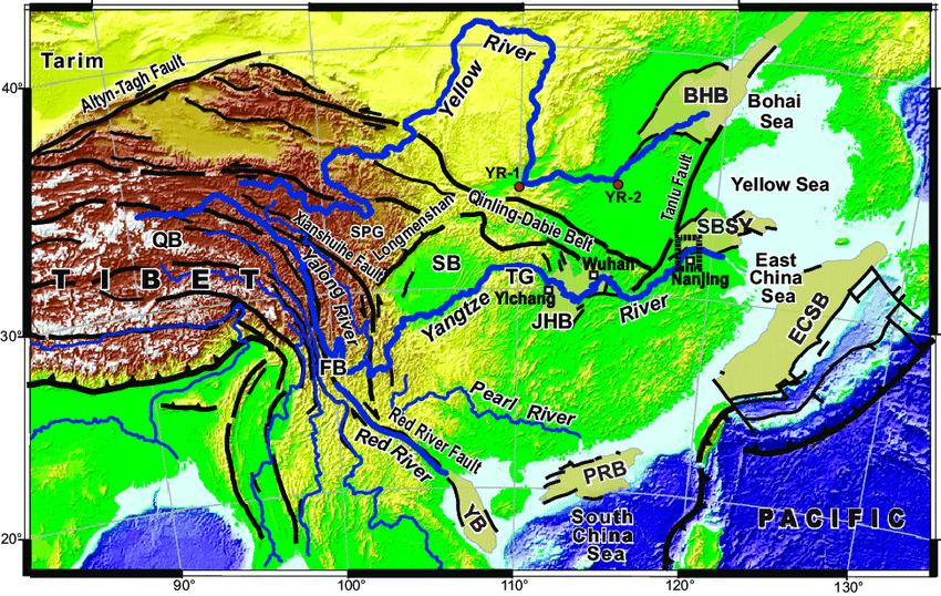 Qinghai Lake Basin Tibetan Plateau