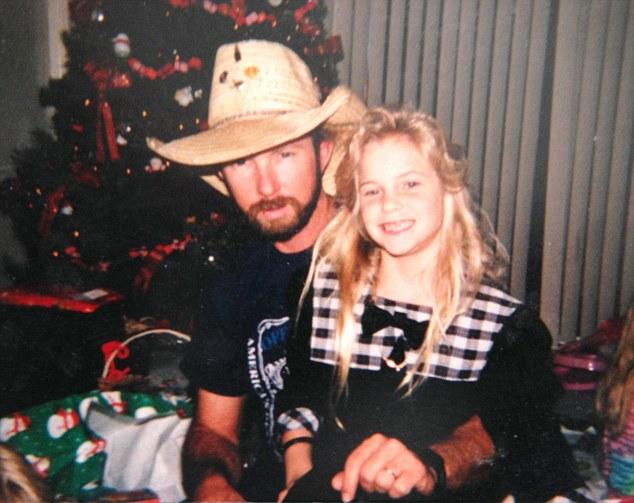 1998.   Sky Roberts, father of Virginia Roberts.