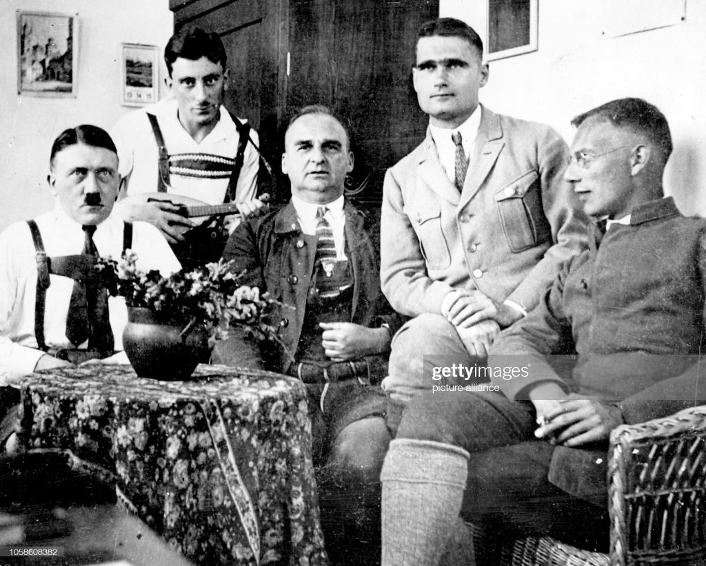 Adoph Hitler prison 1923