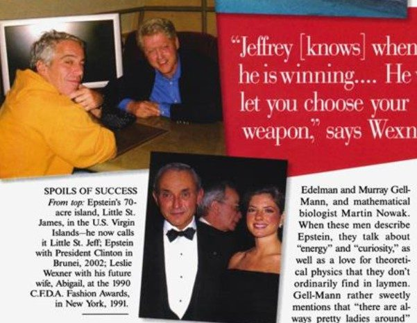 May 22, 2002  Jeff Epstein and Bill Clinton in Brunei