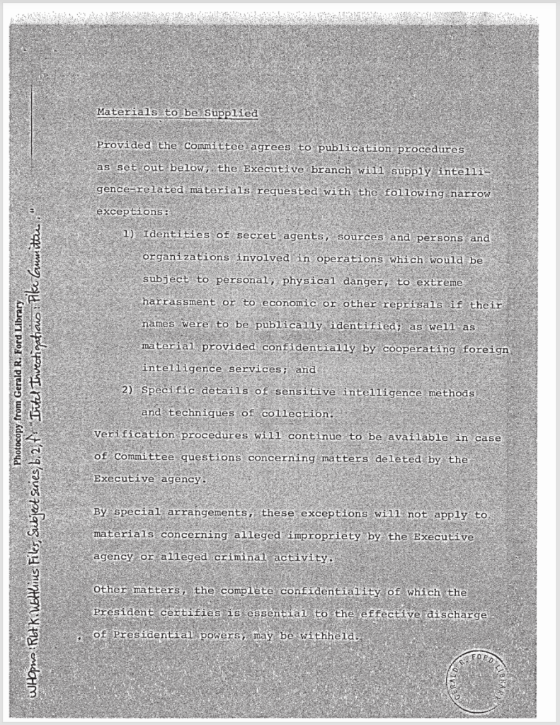 Rapist President Gerald Ford Executive Privilege MK Ultra