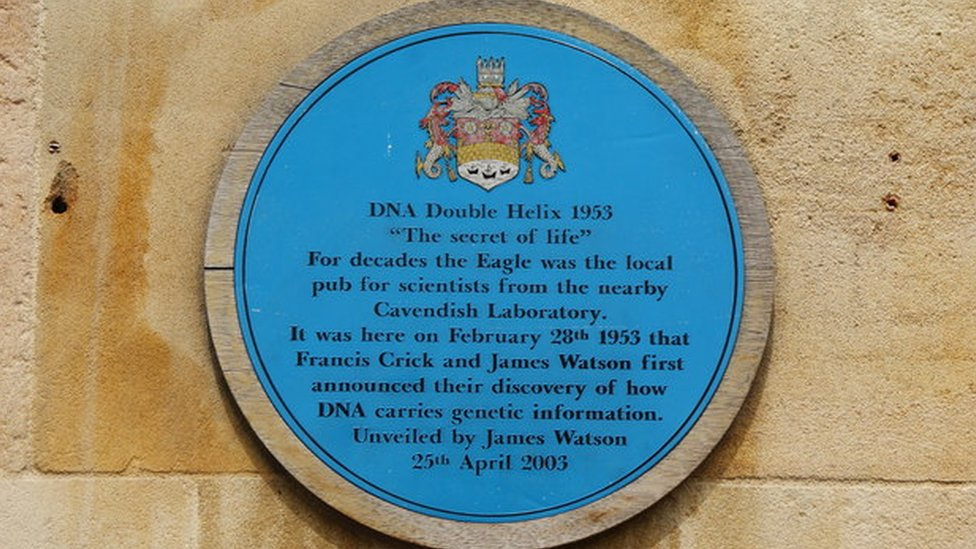 Francis Crick James Watson Secret of Life Double Helix DNA February 2, 1953