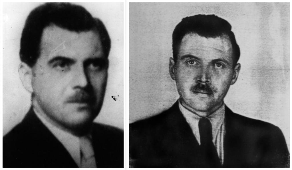 Joseph Mengele identification card Argentina 1956