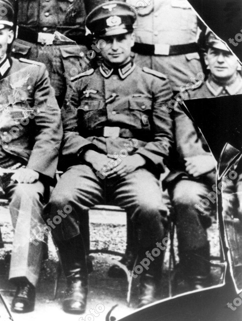 Klaus Barbie 1944 Drancy concentration camp Auschwitz