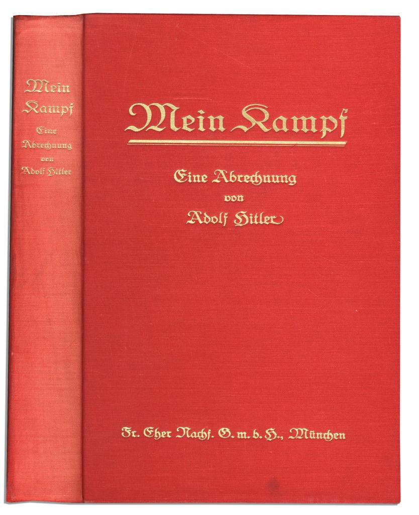 Mein Kampf 1925 Eugenics Carnegie Institute