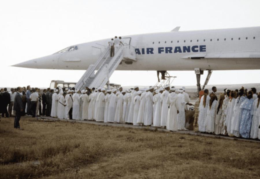 Robert Maxwell, Air France, King of Morocco wedding 1989