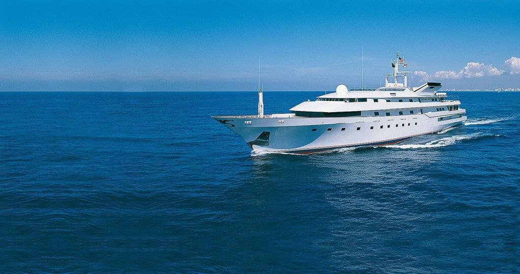 Adnan Khashoggi yacht Nabila delivered 1980 funded by drug smuggling