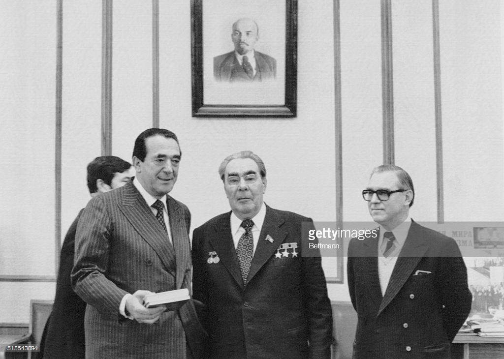 Robert Maxwell Leonid Brezhnev Moscow 1978