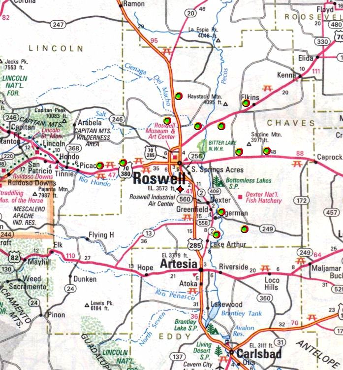 Government map of Atlas F facilities in New Mexico do not show one near Epstein's Zorro Ranch