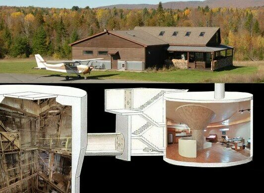 Home built over Atlas missile facility in New York shows layout that Jeffrey Epstein used at Zorro Ranch