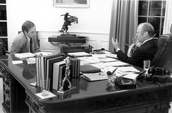 Both Gerald Ford and Dick Cheney raped Cathy O'Brien before this picure was taken on November 10, 1975.