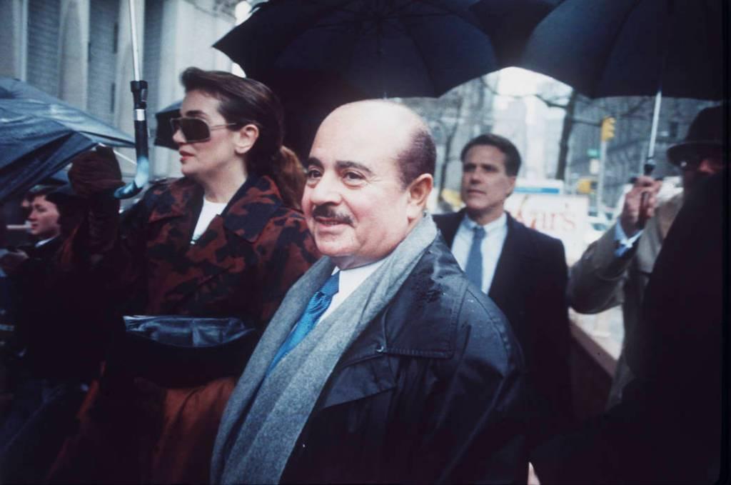 Adnan Khashoggi Manhattan Federal Court April, 4, 1990