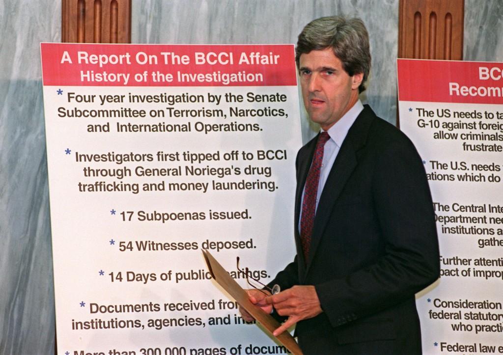 John Kerry BCCI Affair October 1, 1991 Terrorism Narcotics International Operations CIA
