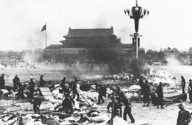 June 6, 1989.  George Bush  Tiananmen Square Massacre