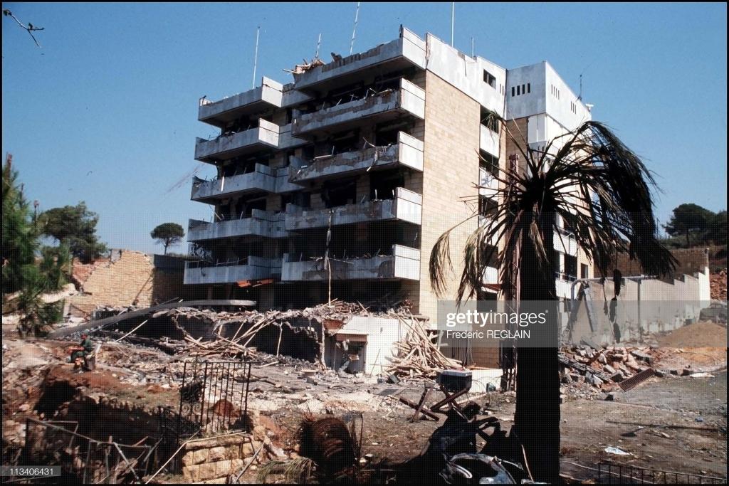 US Embassy bombing Beirut September 21, 1984