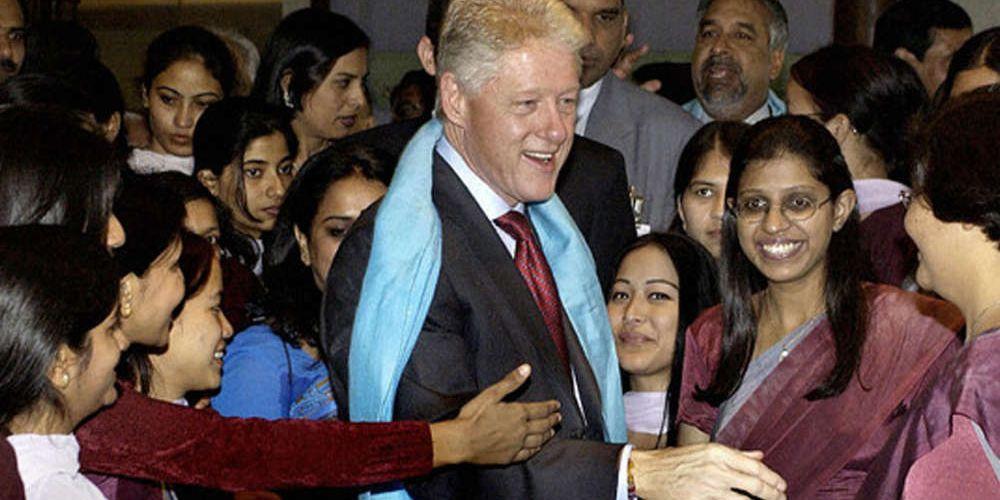 Bill Clinton and Ghislaine Maxwell flew to India November 2003.  Bill Clinton, AIDS, Aspen Pharmacare, Ranbaxy, Cipla, Matrix Laboratories