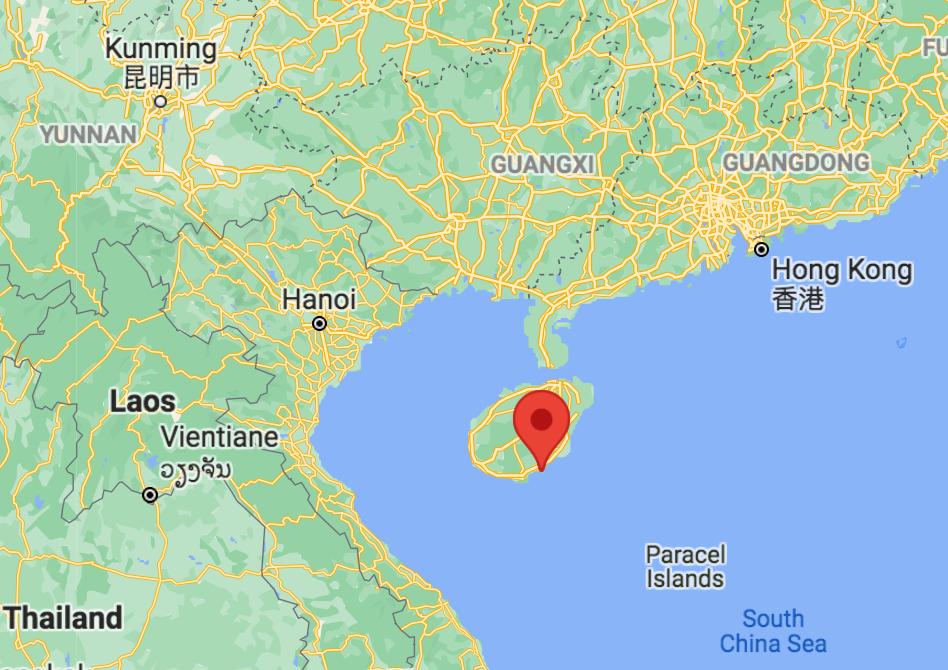 18.48, 110.02 Hainan Province, China R. affinis Coronavirus CoV-39